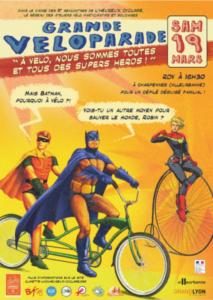 Affiche Rencontres de l'Heureux Cyclage 2016