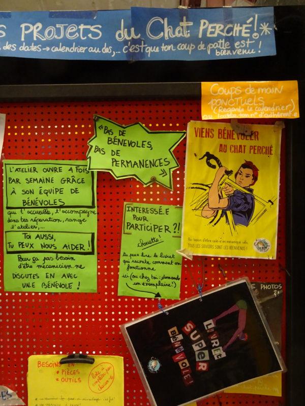 Faire une permanence sans dérailler: échange de pratiques pédagogiques dans l'atelier - mardi 26 Novembre