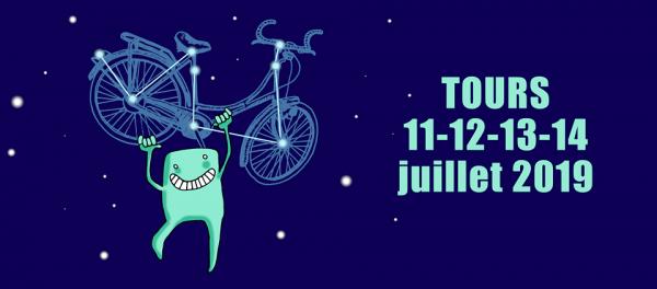 Vélorution Universelle 2019 du 11 au 14 Juillet à Tours (37)
