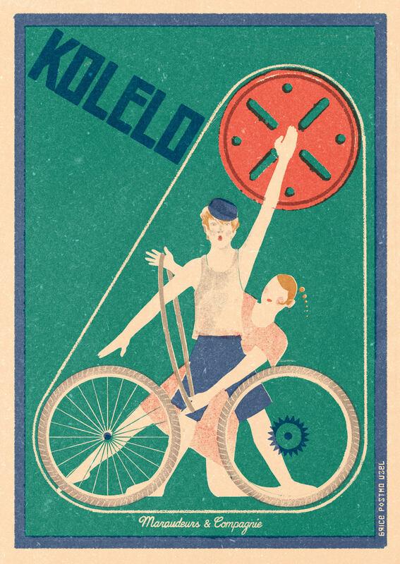 Soirée voyage à vélo & spectacle ! Vendredi 18 octobre 2019