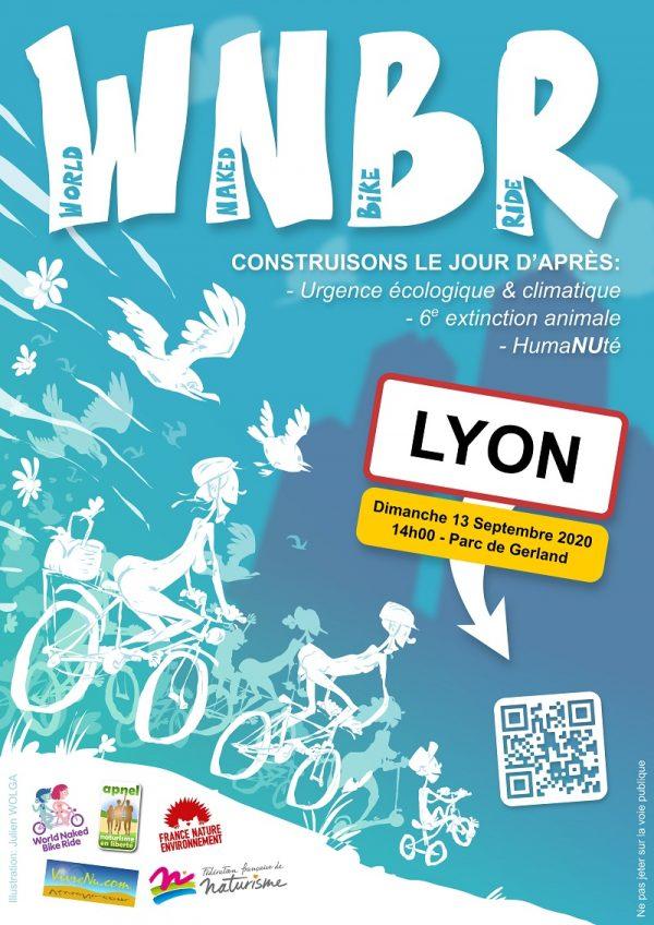 Dimanche 13 Septembre à 14h (Parc de Gerland, LYON 7) World Naked Bike Ride